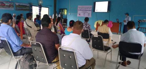 Inception meeting in Dhangadhi Sub metropolitan city-kailali