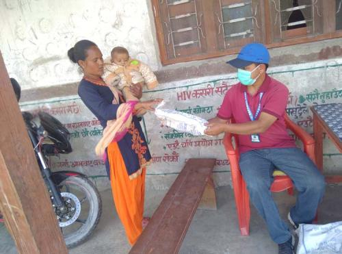 Beneficaries received super Ceral at shreenagar HPs